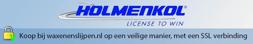 Banner Holmenkol logo boven