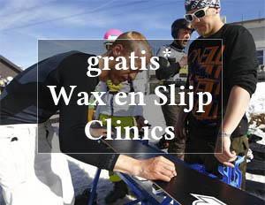 Gratis wax en slijp clinic